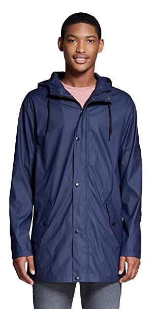 Amazon.com: Merona - Chaqueta impermeable para hombre: Clothing
