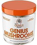 Genius Mushroom – Lions Mane, Cordyceps and Reishi – Immune System Booster