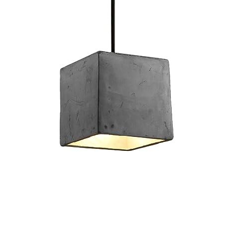 Vintage pendant lamp motent modern simplicity industrial cement vintage pendant lamp motent modern simplicity industrial cement hanging light in geometric shape antique aloadofball Choice Image