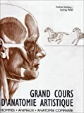 grand cours d anatomie artistique ; hommes animaux anatomie compar?e