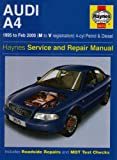 Audi A4 (4-cylinder) 1995-2000 Service and Repair Manual (Haynes Service and Repair Manuals)
