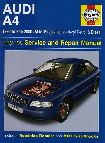 audi a4 4 cylinder service and repair manual haynes service and rh amazon com haynes repair manual audi a4 free download haynes repair manual audi a4 free download