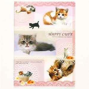 Carpeta de Plástico de los Gatitos