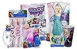 Disney Elsa & Anna Frozen Bundle: Hands Down Game, Elsa Doll, Figurine and More