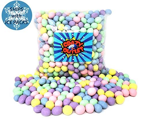 CrazyOutlet Pack - Milk Chocolate Almonds Candy, Party Favorite Pastel Mix, Candy Coated Almonds, Bulk Pack, 2 lbs