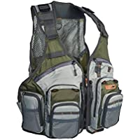 Anglatech Fly Fishing Vest Pack for Trout Fishing Gear...