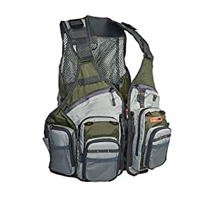 Anglatech fly fishing vest pack for trout for Fishing vest amazon