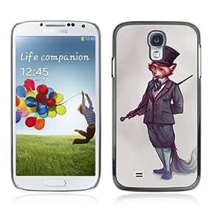 Lmf DIY phone case [Sophisticated Fox] Samsung Galaxy S4 CaseLmf DIY phone case