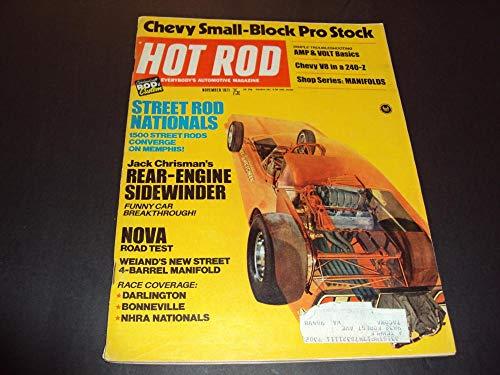 Hot Rod Nov 1971 Chevy Small-Block Pro Stock, Nova
