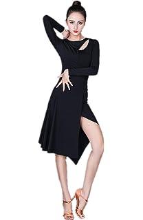 Amazon.com: Las mujeres cuello especial diseño gasa vestidos ...