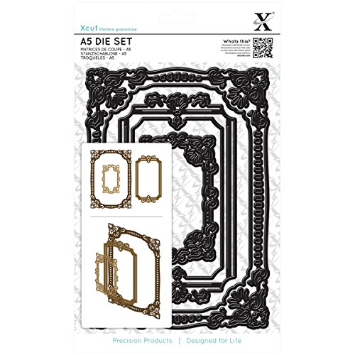 (DOCrafts Xcut A5 Square Die Set Ornate Frames)