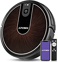 Robot Vacuum, APOSEN Smart WiFi Floor Vacuum Robot Cleaner, 2200Pa Strong Suction, Super Thin Quiet, Automatic Robot...