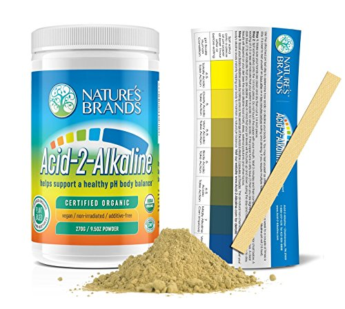 Powder Alkalizing (Acid-2-Alkaline Organic Whole Food Alkalizing Powder; 9.5oz)