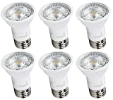 Hyperikon LED PAR16 Bulb, 6.5W (40 Watt), Dimmable Spot Light, E26 Base, 2700K, 6 Pack