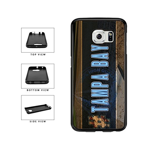 BleuReign(TM) Hashtag Tampa Bay #TampaBay Baseball Team TPU RUBBER SILICONE Phone Case Back Cover For Samsung Galaxy Note 5 Edge