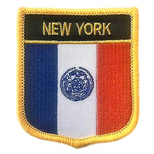 New York City (NYC) Flag Shield Patch