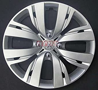 Set of 4 Wheel Hubcaps for Peugeot 208 12, Diameter 15 inches: Amazon.co.uk: Car & Motorbike