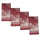 Benson Mills Fabric 546816 Christmas Story Napkins (Set of 4), 18 x 18