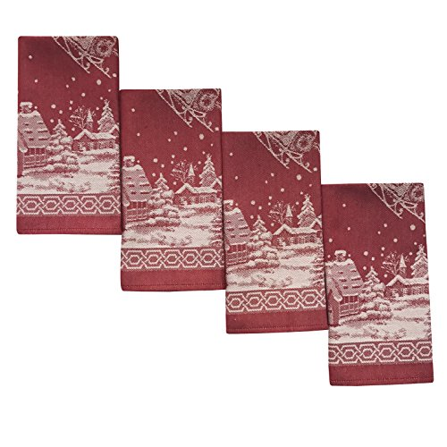 Benson Mills Christmas Story Engineered Jacquard Fabric Napk