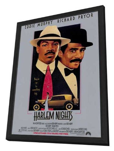 Harlem Nights - 27 x 40 Framed Movie Poster by Movie Posters