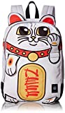 NEFF Men's Plush Adjustable Backpack, Neko Chan, One Size