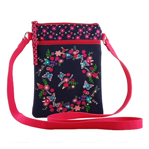 - Crossbody slingbag purse tote shoulder travel bag smooth zipper women girls
