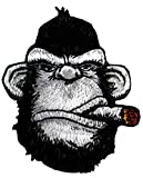 Hook patch Ape Victory Cigar Tactical Morale Pew Pew Operator Beard Club