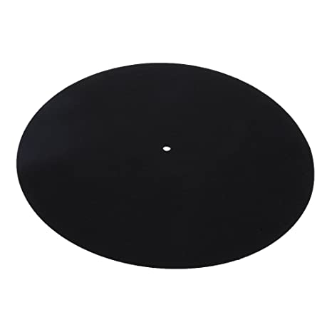 LP Tocadiscos Player Slip-mat Record Player Wool Pad Vibración ...