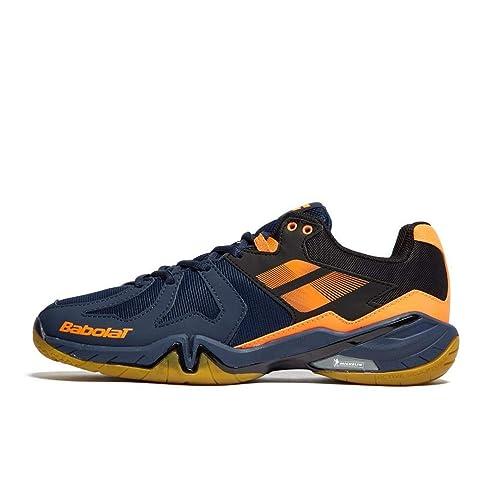 Zapatillas de Bã¡Dminton Babolat Shadow Spirit para Hombre, Azul Marino, 45: Amazon.es: Zapatos y complementos