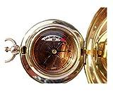 Handmade-Brass-Push-Button-Direction-Compass-POCKET-COMPASS-C-3191
