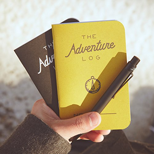 Travel Log (Word Notebooks Adventure Log - Yellow 3-Pack - Traveler's Pocket Notebooks)