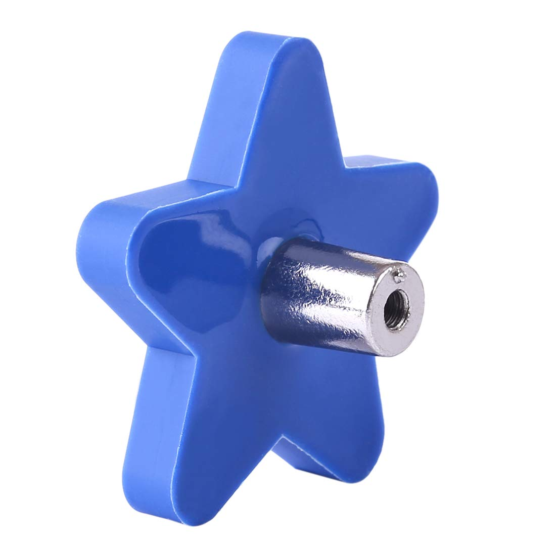 Forma de Estrella Giplar Infantiles Tiradores de PVC 4 Piezas para habitaci/ón Mueble Infantil,51x51x22mm