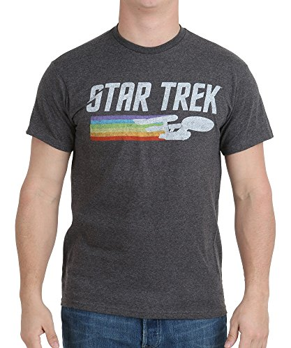 age Logo T-Shirt, Charcoal Heather, Medium ()