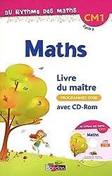 Au rythme des maths CM1  Livre du maître avec CD-Rom
