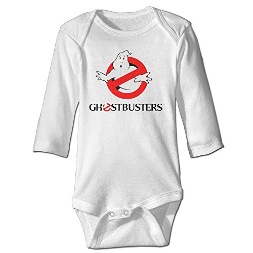 (Raymond Ghost Buster Long Sleeve Jumpsuit Outfits White 6)