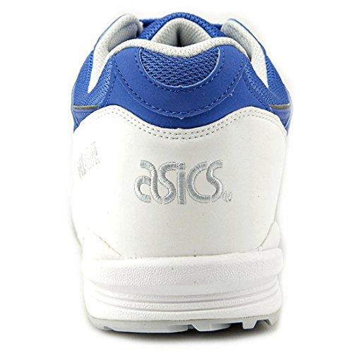 Asics Gel Saga - Zapatillas de running de Material Sintético para hombre Azul azul y blanco