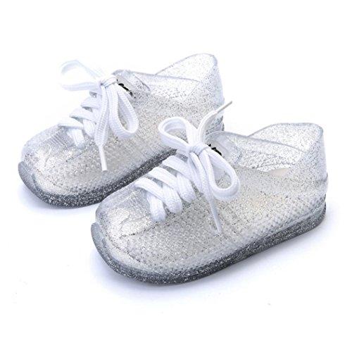 Clode® Baby Mode Sneaker Kind Kleinkind Kinder wasserdichte Casual Sportschuhe Silber