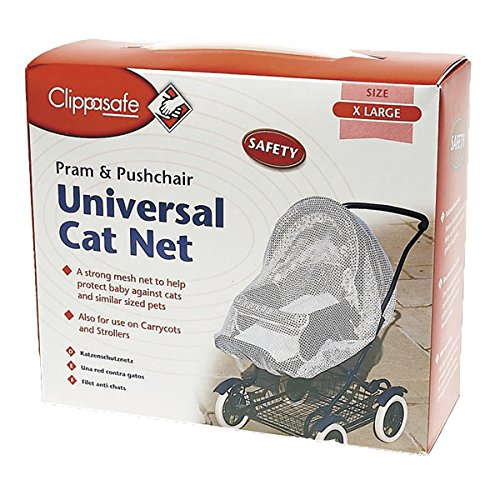 Clippasafe Universal Stroller/Pram Cat Net MaSaYa Kids collection