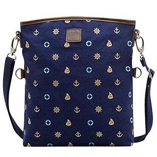 Casual Messenger Body Printing Handbag Shoulder Bag Bag 005 Bag Cross Womens xBq48R1x