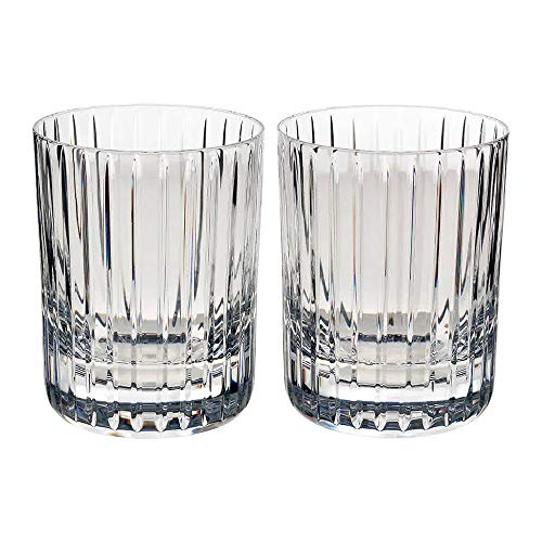 Baccarat Crystal BA2811298 Harmonie Tumbler No 1 Glass-Clear-Set of 2 ()