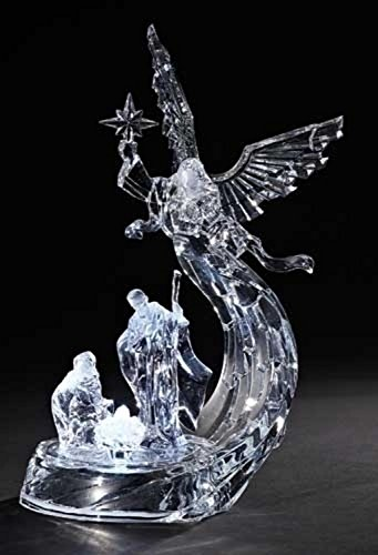 Icy Crystal Led Lighted Angel in Florida - 3