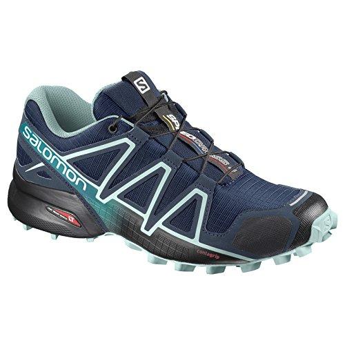 Mujer Speedcross foncà Calzado 4 Running Trail bleu Salomon de clair bleu qRdZwc5