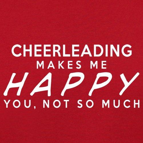 Happy Makes Bag Cheerleading Red Flight Retro Me 74qUxOwUE