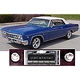 1966 Chevy Impala USA-630 II High Power 300 watt AM FM Car Stereo/Radio with iPod Docking Cable