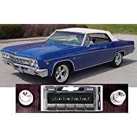 1966 Chevy Impala USA-630 II High Power 300 watt AM FM Car Stereo/Radio with iPod Docking Cable