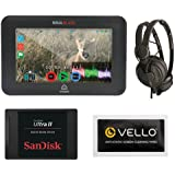 """Atomos Ninja Blade 5"""" HDMI On-Camera Monitor & Recorder for HDMI Cameras and DSLRs Bundle With SanDisk Ultra II 240GB Solid State Drive & Superlux HD-562 Professional Headphone"""
