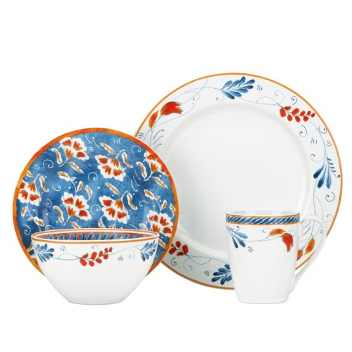 Home Spanish Botanica 4-Piece Place Setting ()