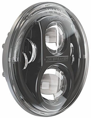 Jw Speaker 8700j B Black Led Headlight Set Of 2 Import