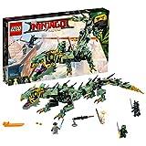 LEGO Ninjago Green Ninja Mech Dragon Building Kit, 544 Piece