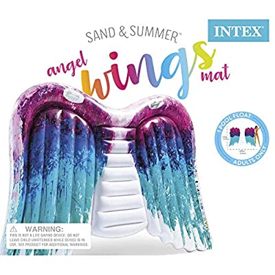 Intex Angel Wings Inflatable Mat: Toys & Games
